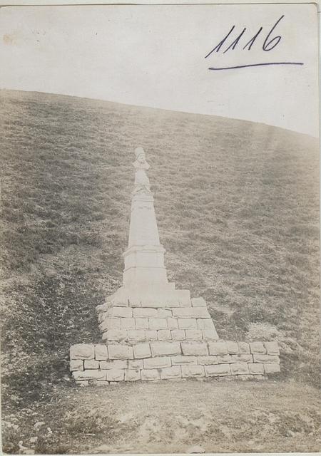 Denkmal des ukr.Dichters Schewtschenko bei Hinowice.