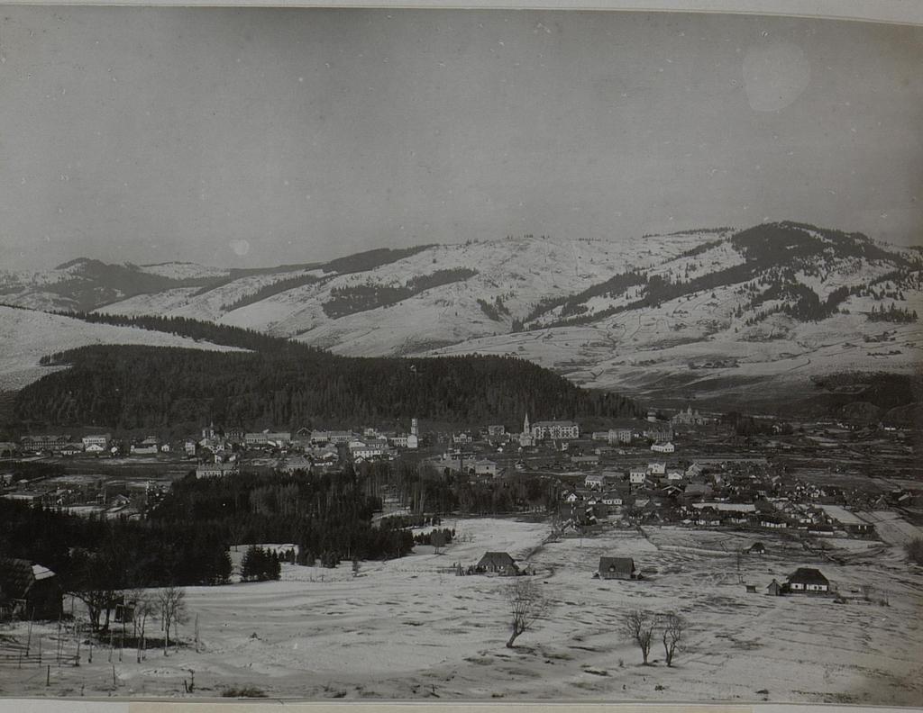 Dorna Watra (Rumänien) Blick auf die Stadt 1917
