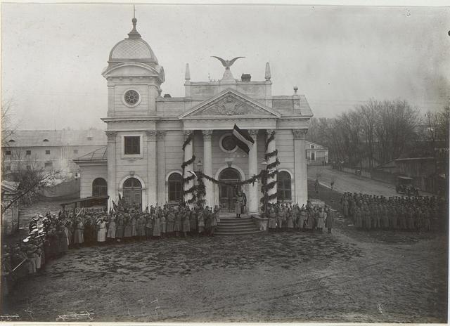 Feier anlässlich des Geburtstages des Kaisers Wilhelm II. am 27. Jänner in Brzezany