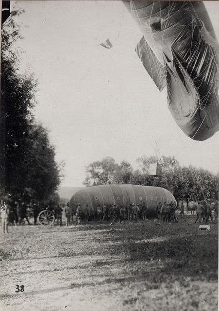 Fesselballon Füllung