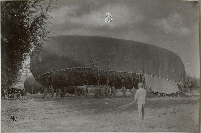 Fesselballon, Los zum Aufstieg