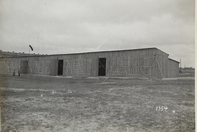 Hangar der Fliegertruppe im Abschnitt der 4. k.u.k. Armee
