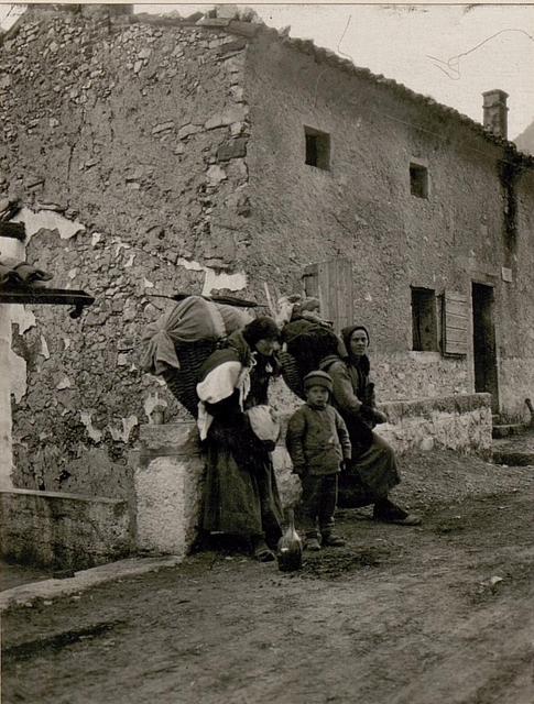 Italienische Flüchtlinge