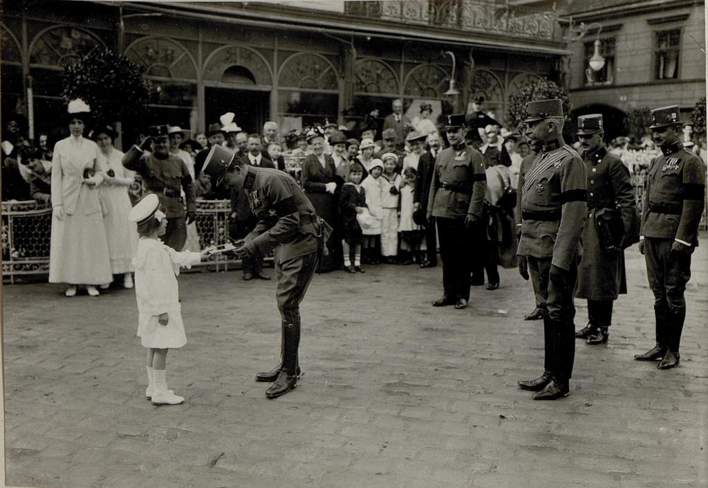 Kaiserin Zita-Tag in Baden, 13.5.1917