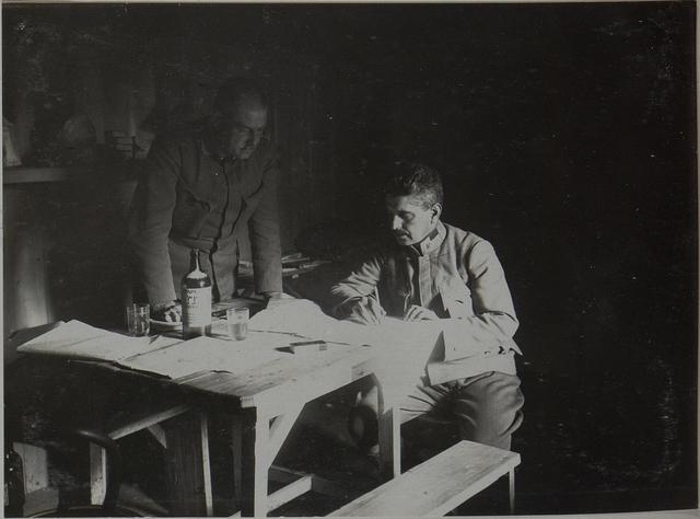 Kanzlei des Lst.Inf. Bataillons Nro.24 in Zuryn.