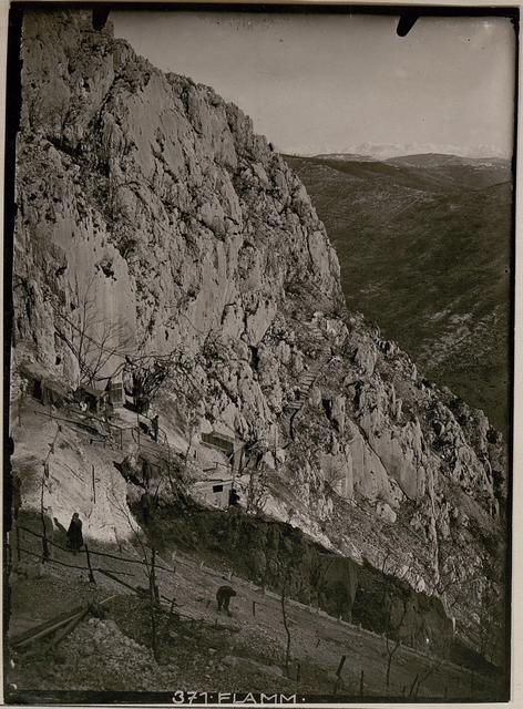 N ordwestlicher.Aufstieg auf den Monte  Sabotino