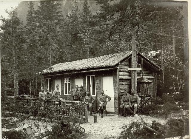 Offiziersmesse des Lst.Baons Nro.153.
