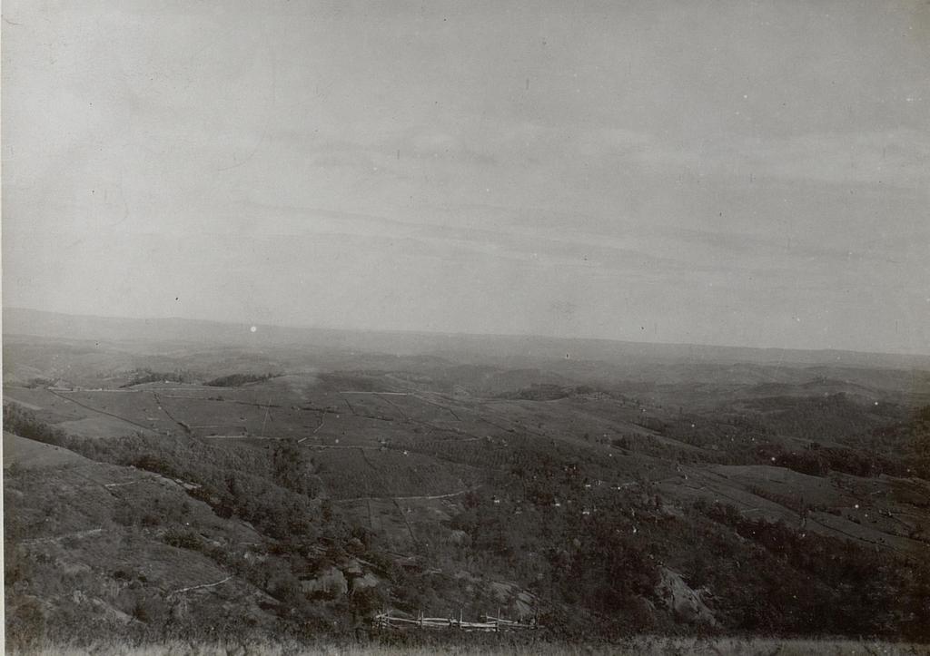 Panorama aus der Stellung des 2.Zuges der 15.Kompanie auf Kote 706