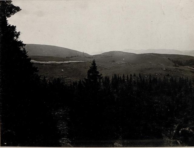 Panorama: Monte Baldo-Barco. Standpunkt  Monte Cimon. (1. Teilbild = WK1_ALB084_24429a)