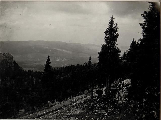 Panorama: Monte Baldo-Barco. Standpunkt  Monte Cimon. (3. Teilbild zu WK1_ALB084_24429a)