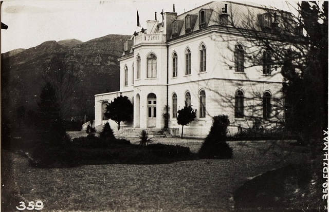Schloss des Prinzen MIRKO in Antivari.