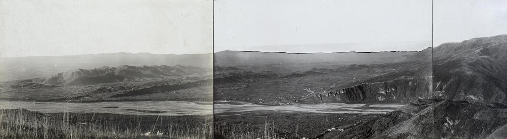 Stpkt: Südhang Mt.Barberie: Feindl. Stellungen auf der Suldergruppe und Mt.Grappamassiv. Aus der Flanke des Gegners gesehen.