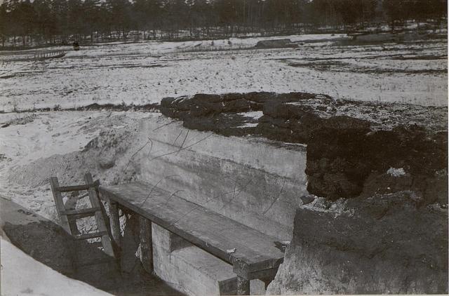 Technischer Kurs.M.G.A.Hangar bei Sumpf.