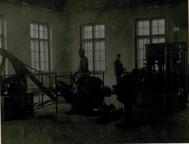Wie Nr:4985.: Maschinenhalle, Luftverflüssigungsanlage.