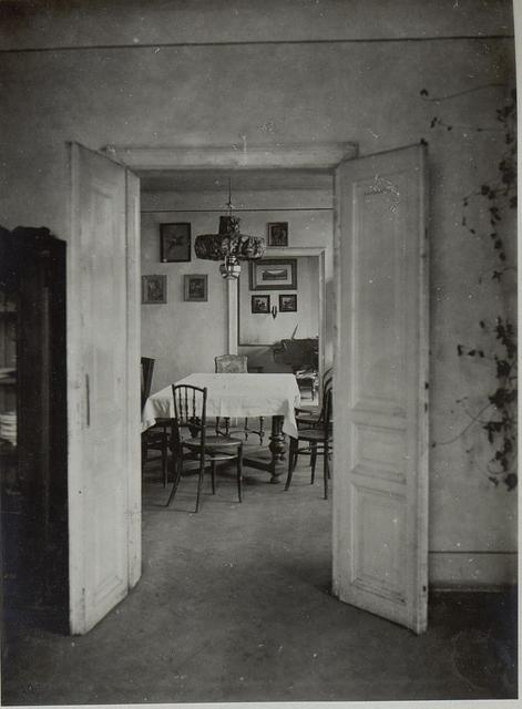 Wohnhaus Sr.Majestät des Kaisers in Kolomea.Innen.