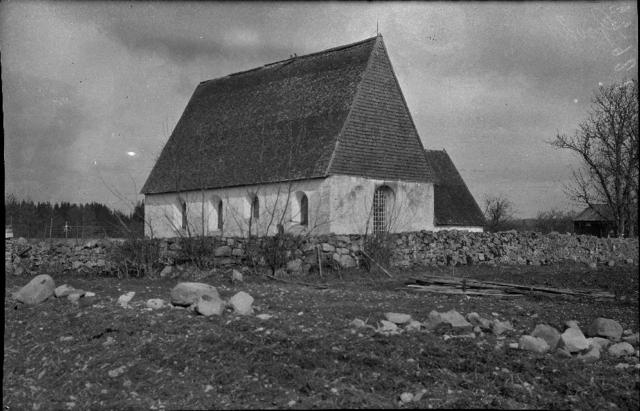 Sjss gamla kyrka - PICRYL Public Domain Image