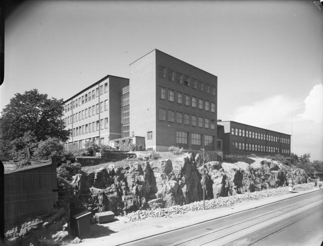 Hantverksinstitutet, Södermalm Exteriör