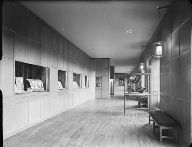 Historiska museet Utställning Interiör