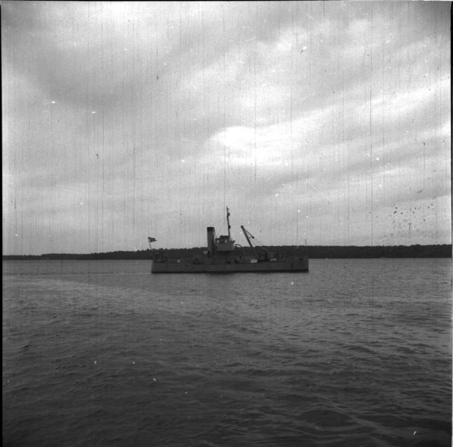 Mul 15 En av Kustartilleriets båtar, Mul 15