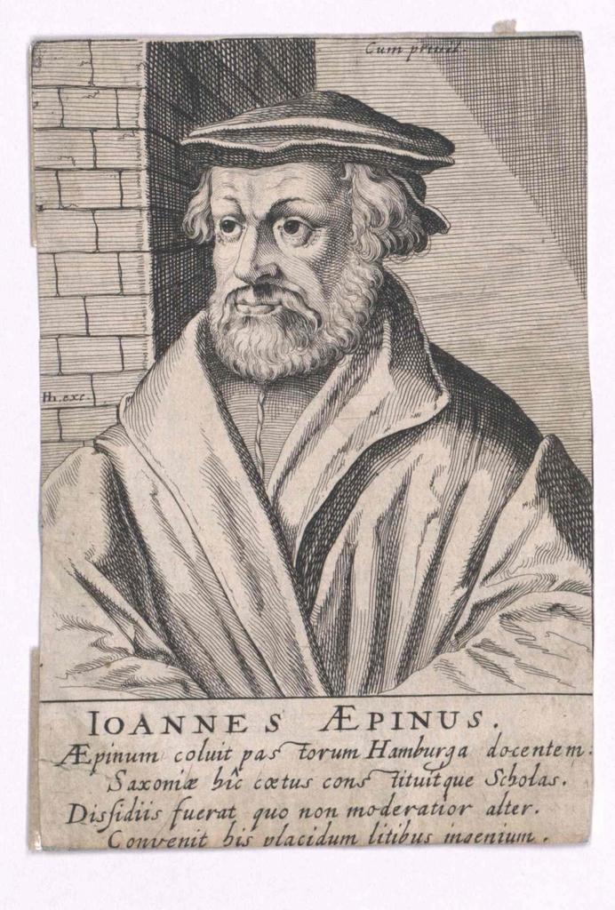 Aepinus, Johannes