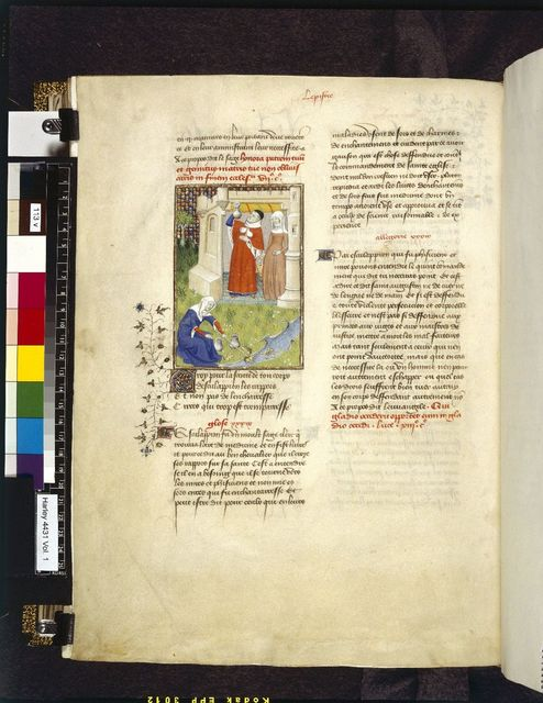 Aesculapius and Circe from BL Harley 4431, f. 113v