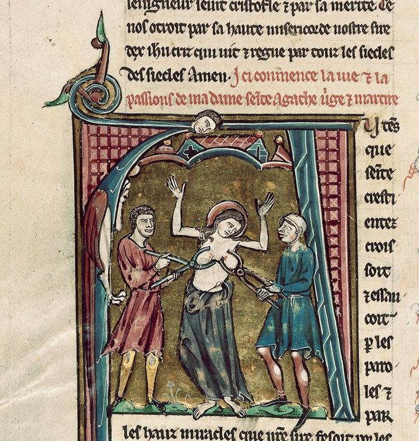 Agatha from BL Royal 20 D VI, f. 64v