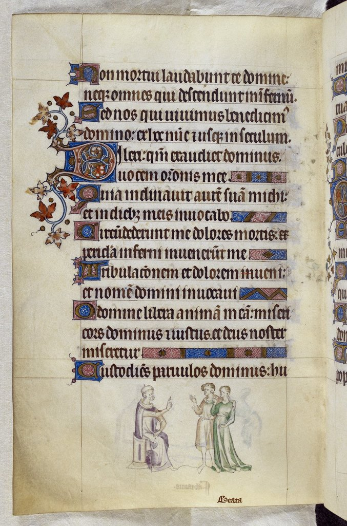 Agnes from BL Royal 2 B VII, f. 238v
