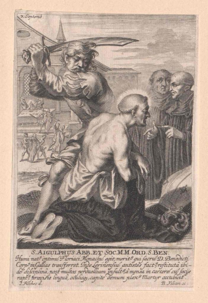 Aigulf von Provins, Heiliger