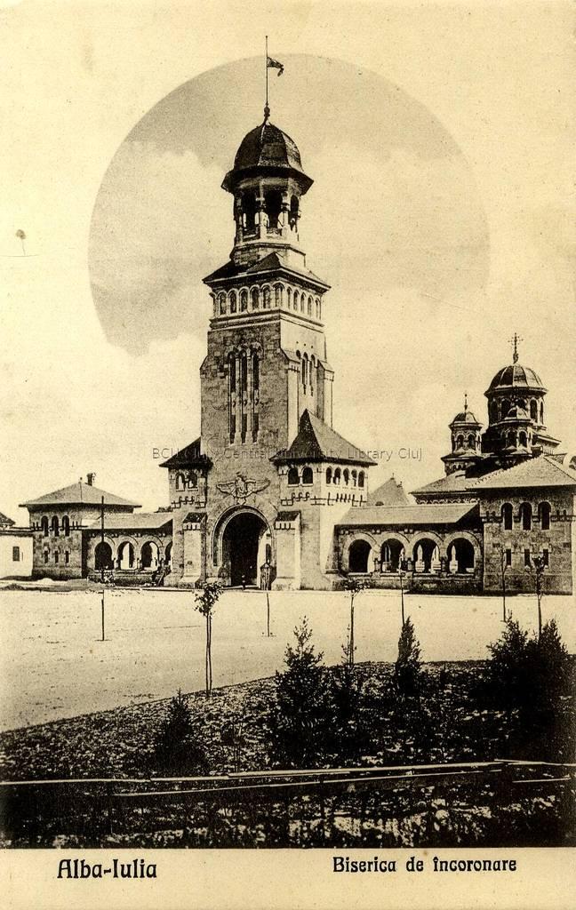 Alba-Iulia [material iconografic] : Biserica de încoronare