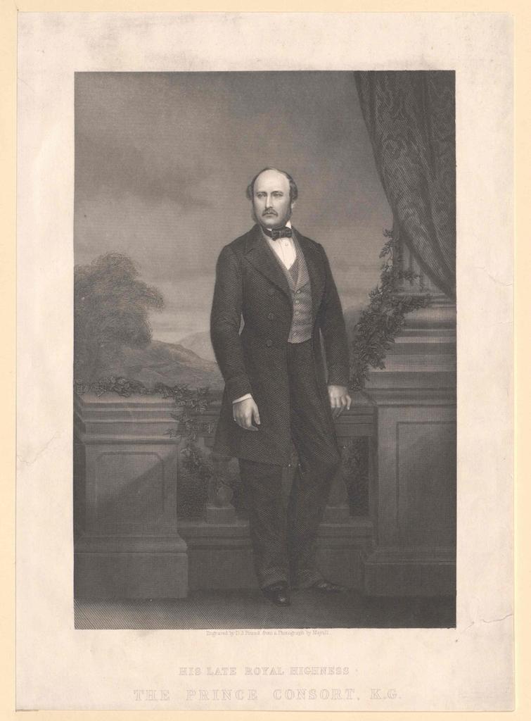 Albert, Prince Consort von England Herzog zu Sachsen Prinz von Sachsen-Coburg-Gotha
