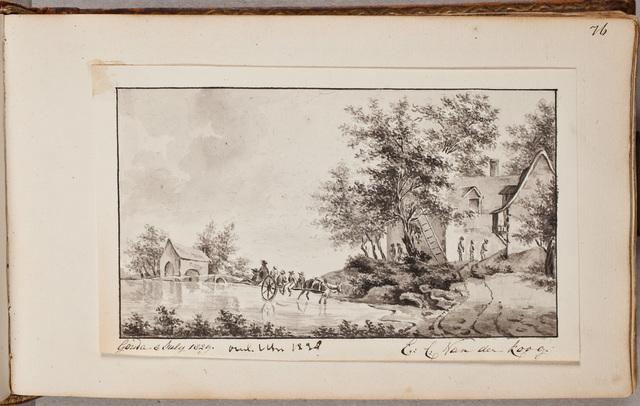 Albumbijdrage / van E.C. van der Koog, voor Johanna Paulina Jacoba van Toulon (1794-1884)