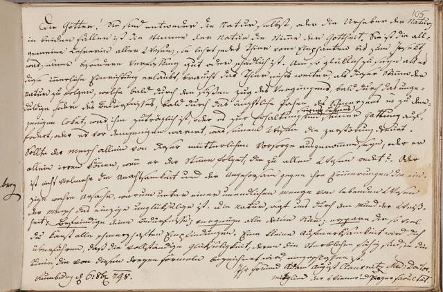 Albuminscriptie / van Adam August Clausnitz, arts, voor Samuel Schön