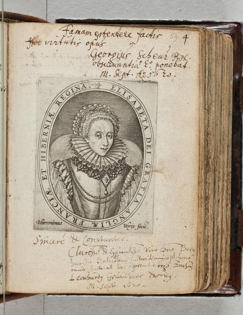 Albuminscriptie / van Georgius Scheur, voor Bernardus Paludanus (1550-1633)