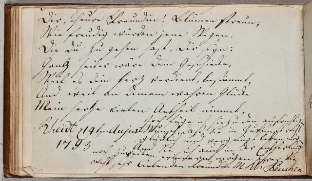 Albuminscriptie / van M.W. Peuchen, voor Christine Henriette Crena