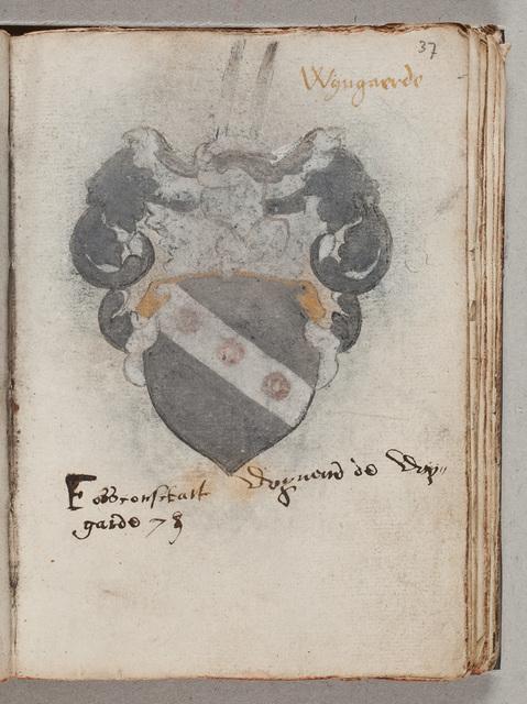 Albuminscriptie / van Wijnand de Wijngarde, voor Gerard van Hacfort