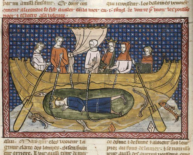 Alexander from BL Royal 19 D I, f. 37v