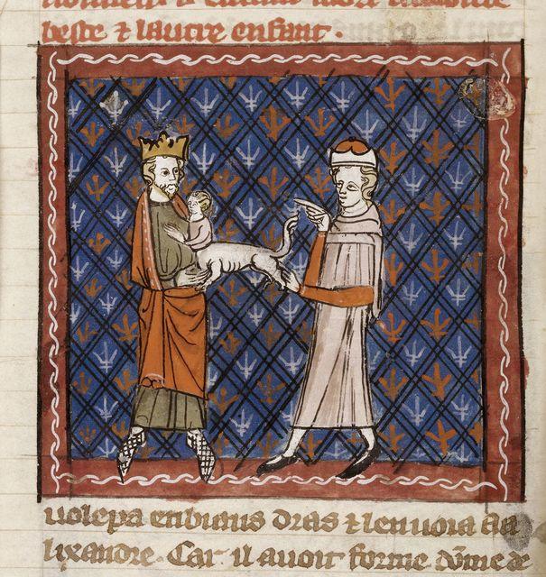 Alexander from BL Royal 19 D I, f. 40v