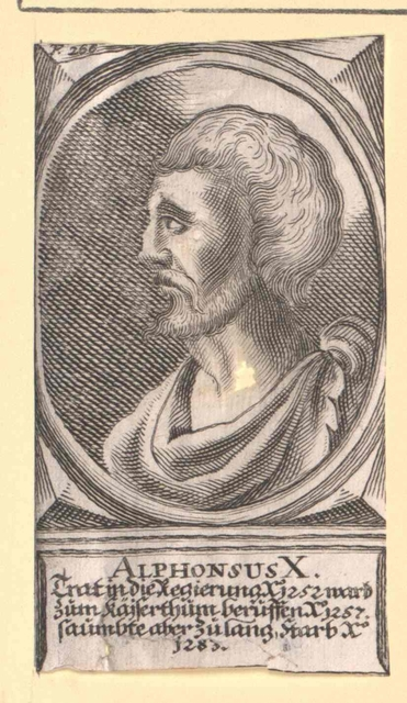 Alfons X. der Weise, König von Kastilien und León