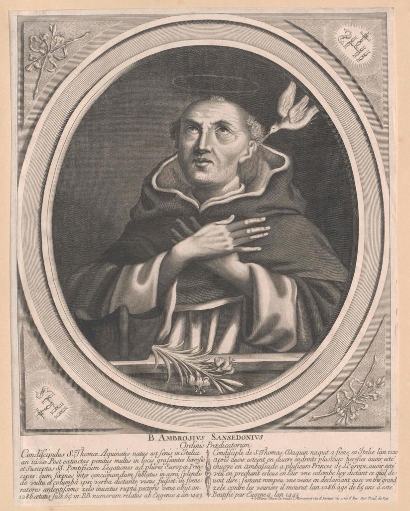 Ambrosius Sansedoni von Siena