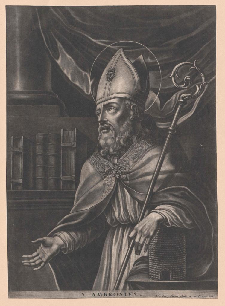 Ambrosius von Mailand, Heiliger