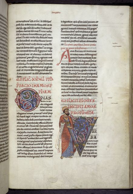 Amos from BL Harley 2803, f. 269