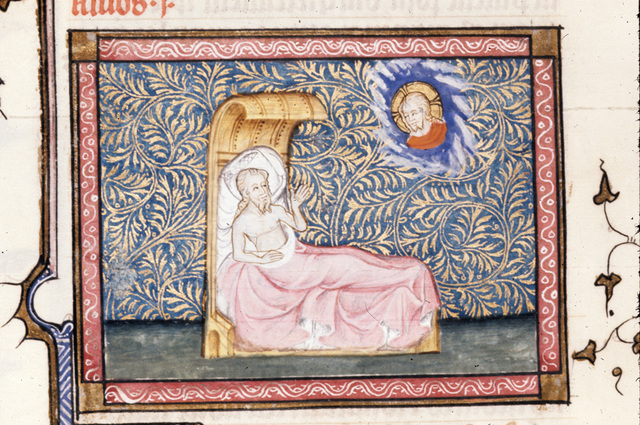 Amos from BL Royal 19 D II, f. 392v