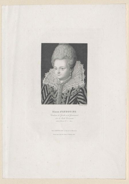 Andoins, Comtesse de Louvigny, Diane Corisande d'