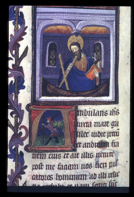 Andrew from BL Eg 1070, f. 80v