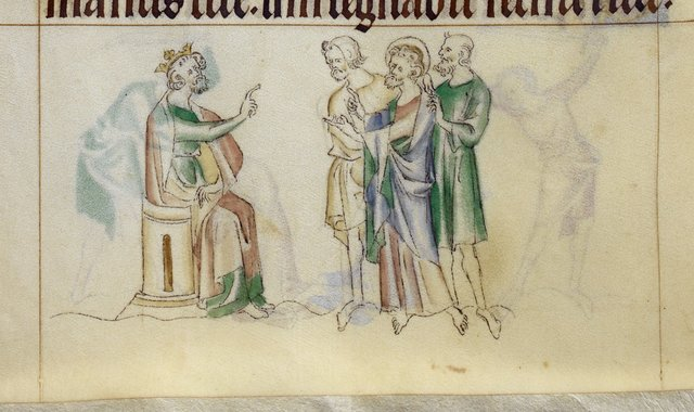 Andrew from BL Royal 2 B VII, f. 285v