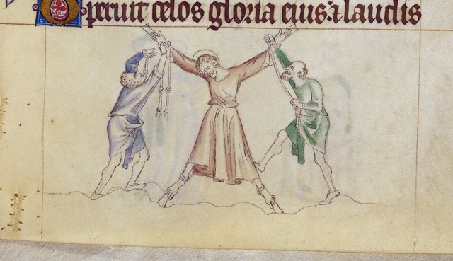 Andrew from BL Royal 2 B VII, f. 286