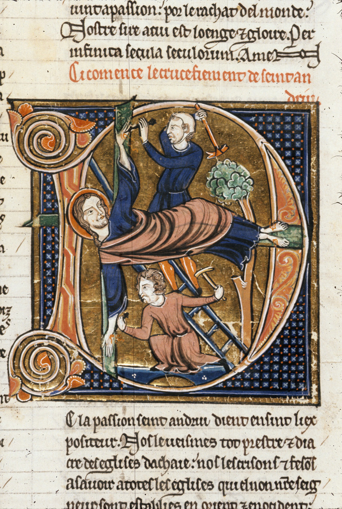 Andrew from BL Royal 20 D VI, f. 185