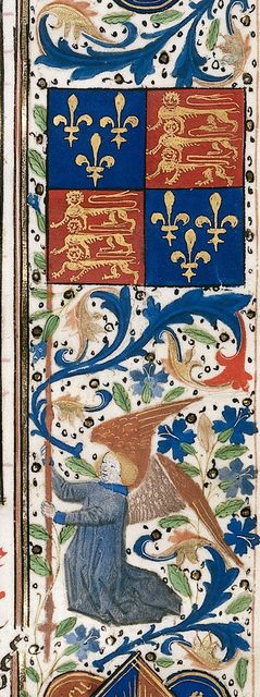 Angel from BL Royal 14 E IV, f. 71