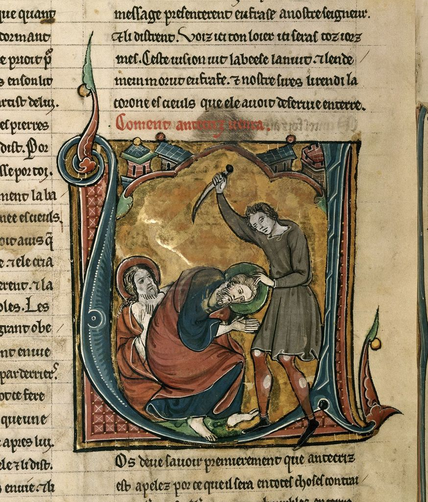 Antichrist from BL Royal 20 D VI, f. 232v