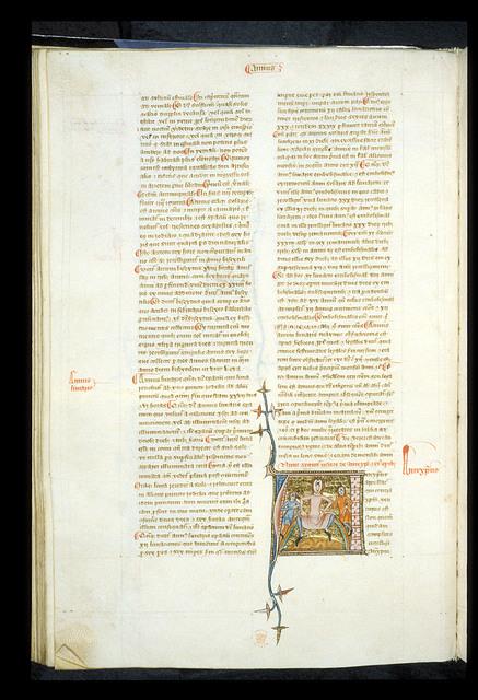Antichrist from BL Royal 6 E VI, f. 100v